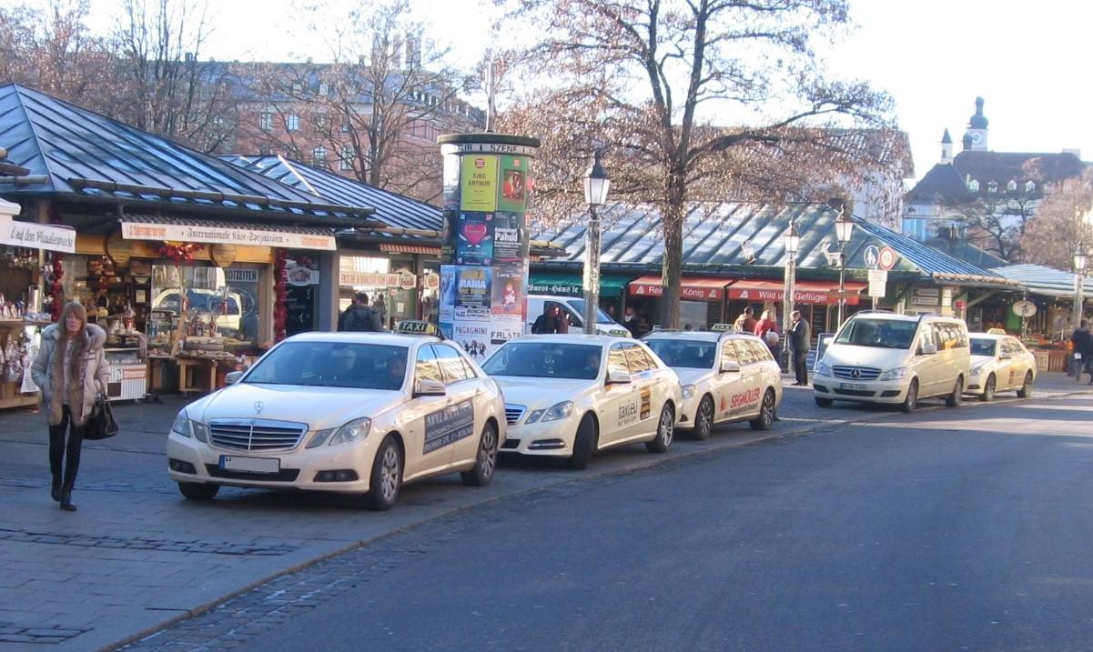 Taxi-Standplatz Viktualienmarkt