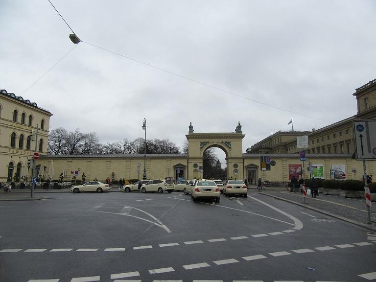 Taxistand Odeonsplatz