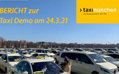 Taxidemo 24. März 2021 – der Video-Bericht