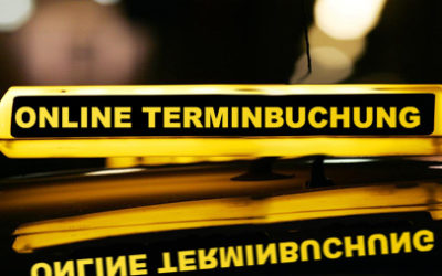Online Termine buchen bei der Taxi-München eG