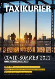 Cover Taxikurier Juli 2021